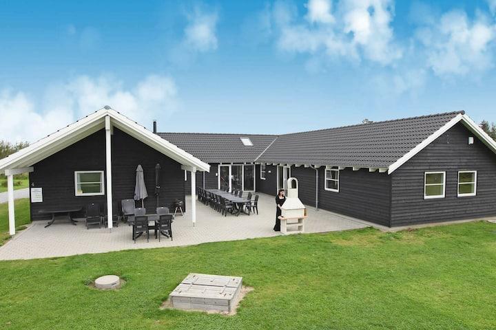 Luxuriöses Ferienhaus in Væggerlose (Dänemark) mit Sauna