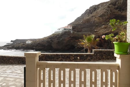 Apartment with terrace in 1st line of natural pool - Tamaduste
