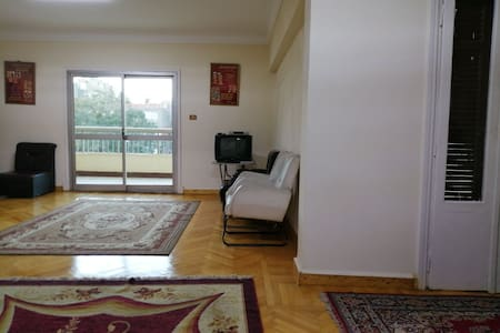 In Heliopolis center, for monthly rent only