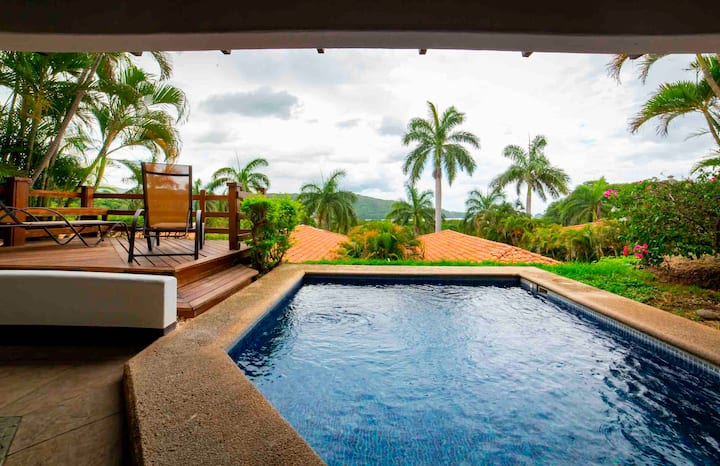 Magnificent Oceanview Condo with Private Pool