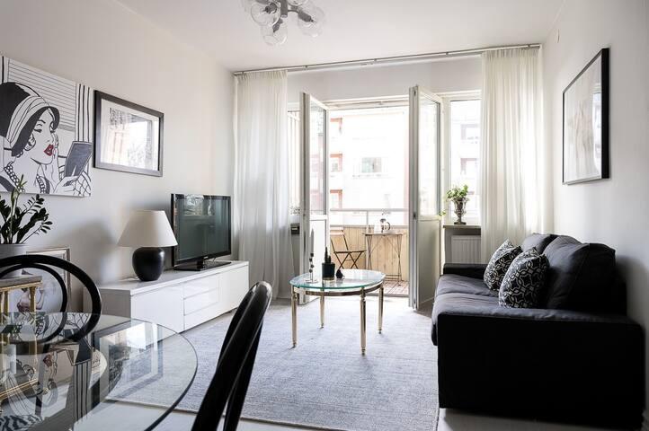 Lyxig lägenhet i Solna - Solna
