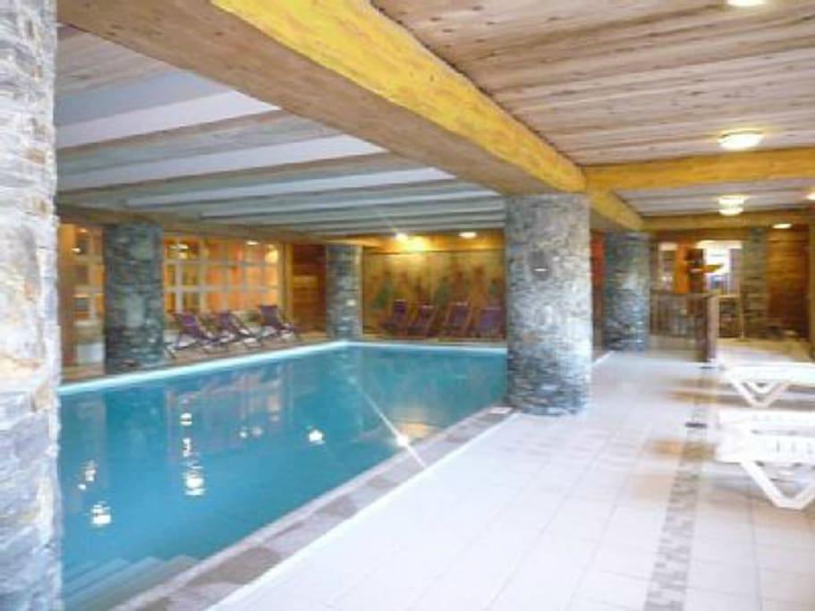 Arc 1800 3p r s standing calme 5 7 p piscine ja for Bourg st maurice piscine