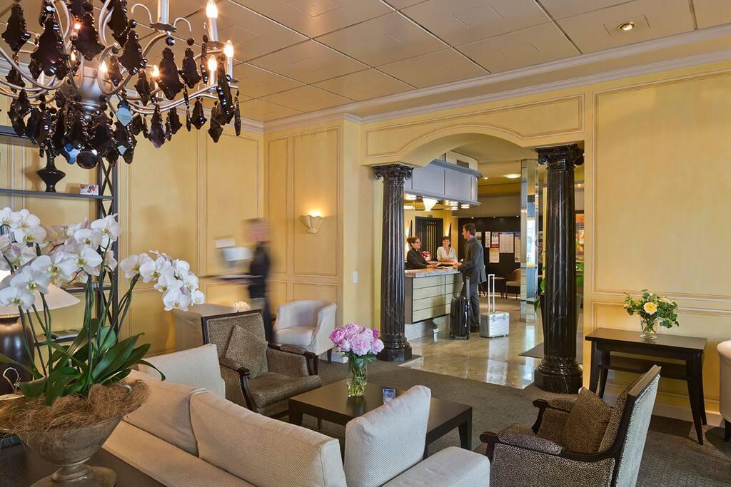 Lobby Hotel Opera Zürich