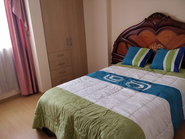 Room, nice place north of Quito