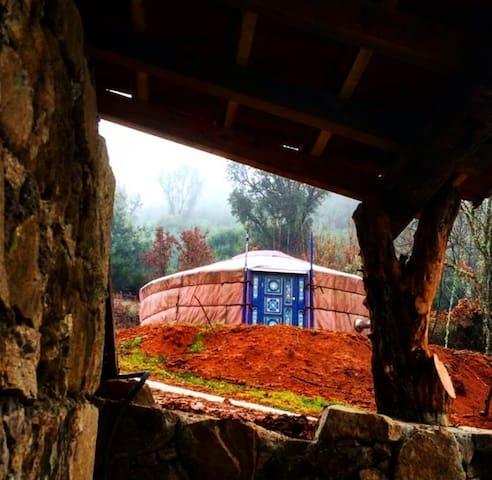 Quinta do Ragal Yurt Azul 2 pessoas