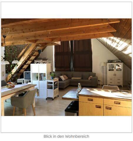 Wunderschöne 1,5-Zimmer-Wohnung für 3 Monate