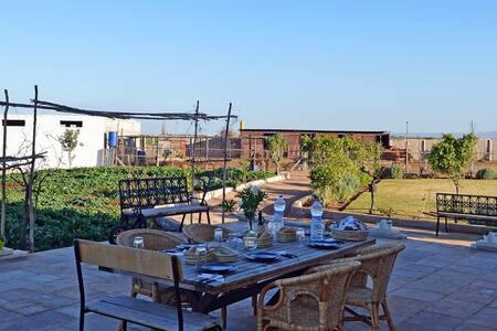 Chambre dans une ferme d'hôtes entre Fès et Meknès