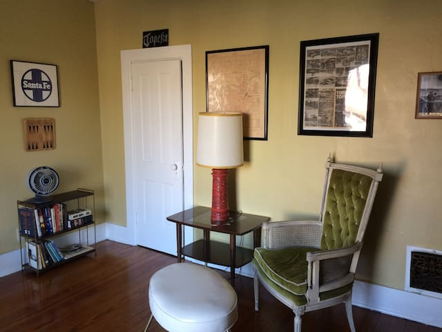 Cool Old House Apartment - Steps From Downtown!