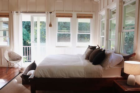 Riverfront Guest Suite between Hanalei and Na Pali - 一軒家