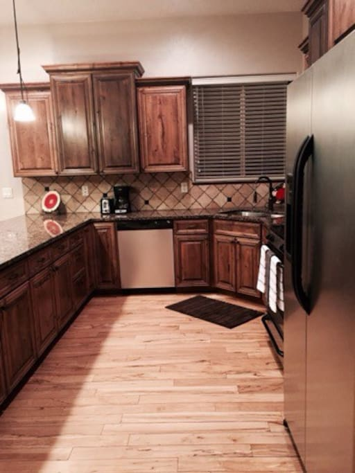 Kitchen includes all essentials such as coffee maker, dishes, utensils, etc