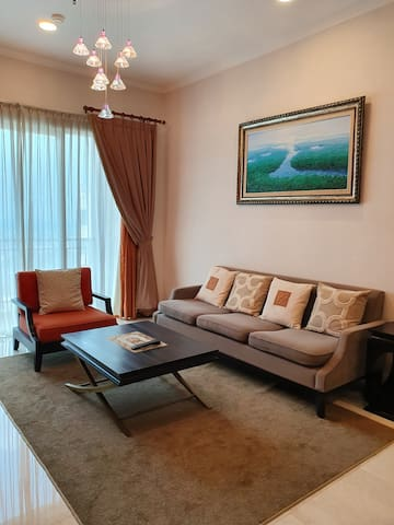 100m/sq, 2 beds, 3 baths at Apt Senayan Residence