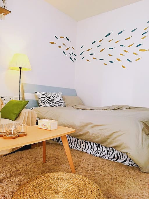 舒服环境,唯美的墙贴带你走进最香的梦境