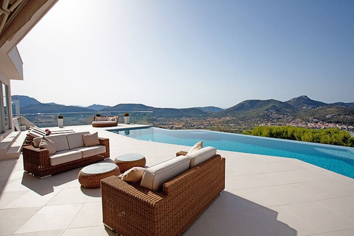 SUPERB LUXURY - Amazing Views & SPA - Andratx - Villa