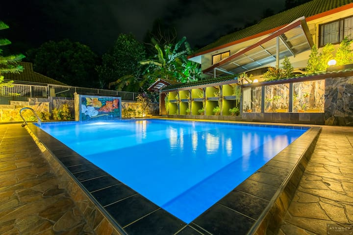 Private Pool Villa with Waterfall