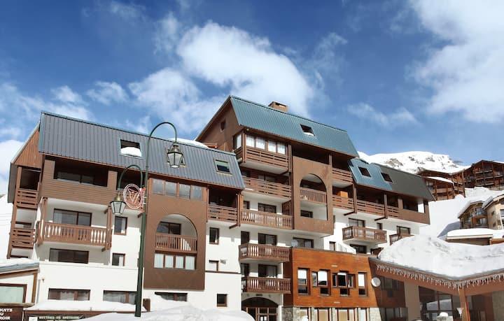 Appartement Près des Remontées Mécaniques avec Kitchenette Equipée + Balcon