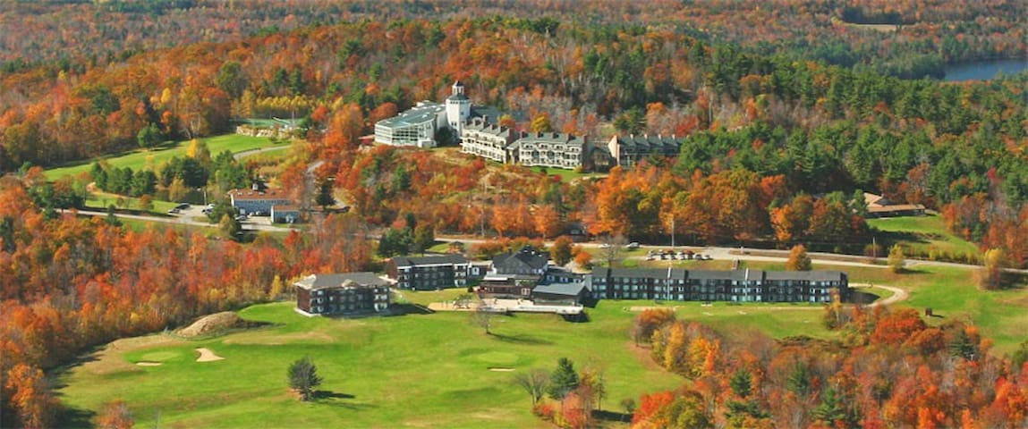 Steele Hill Resort in Sanbornton New Hampshire - Sanbornton - Andelsboende