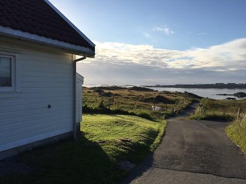 Comfortable beach house - sea view