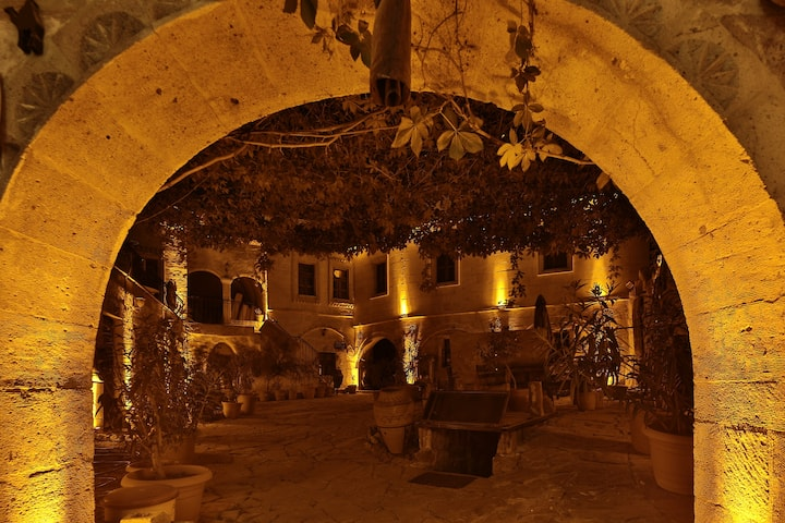 Caravanserai  Cave  Arch Room(Goreme-Cappadocia)