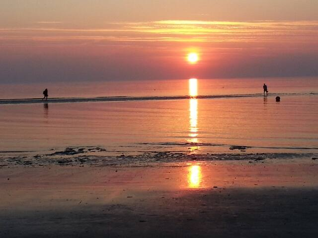 St. Peter-Ording am Abend
