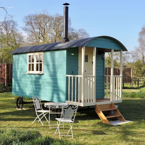 Shepherd Hut Gertrude, with space for small tent - Toft Monks - Barraca