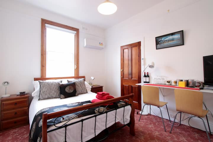 PRIVATE ROOM WITH NEW ENSUITE - OFF STREET PARKING