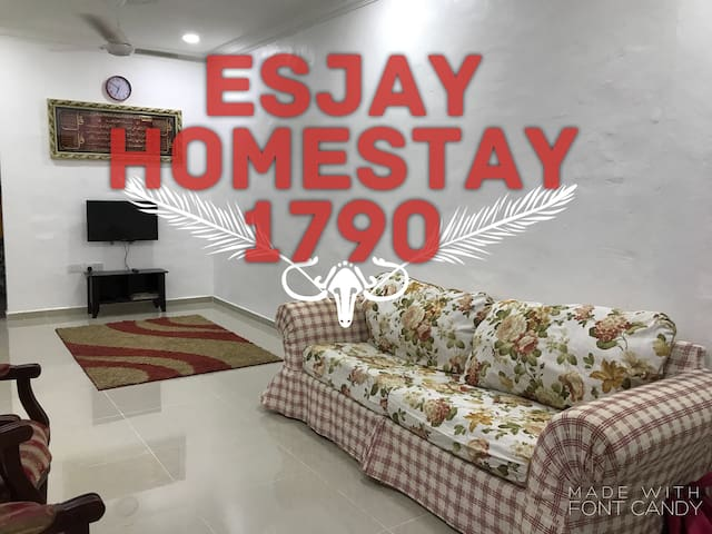 Lovely Esjay Homestay 1790 in Sungai Petani-MUSLIM