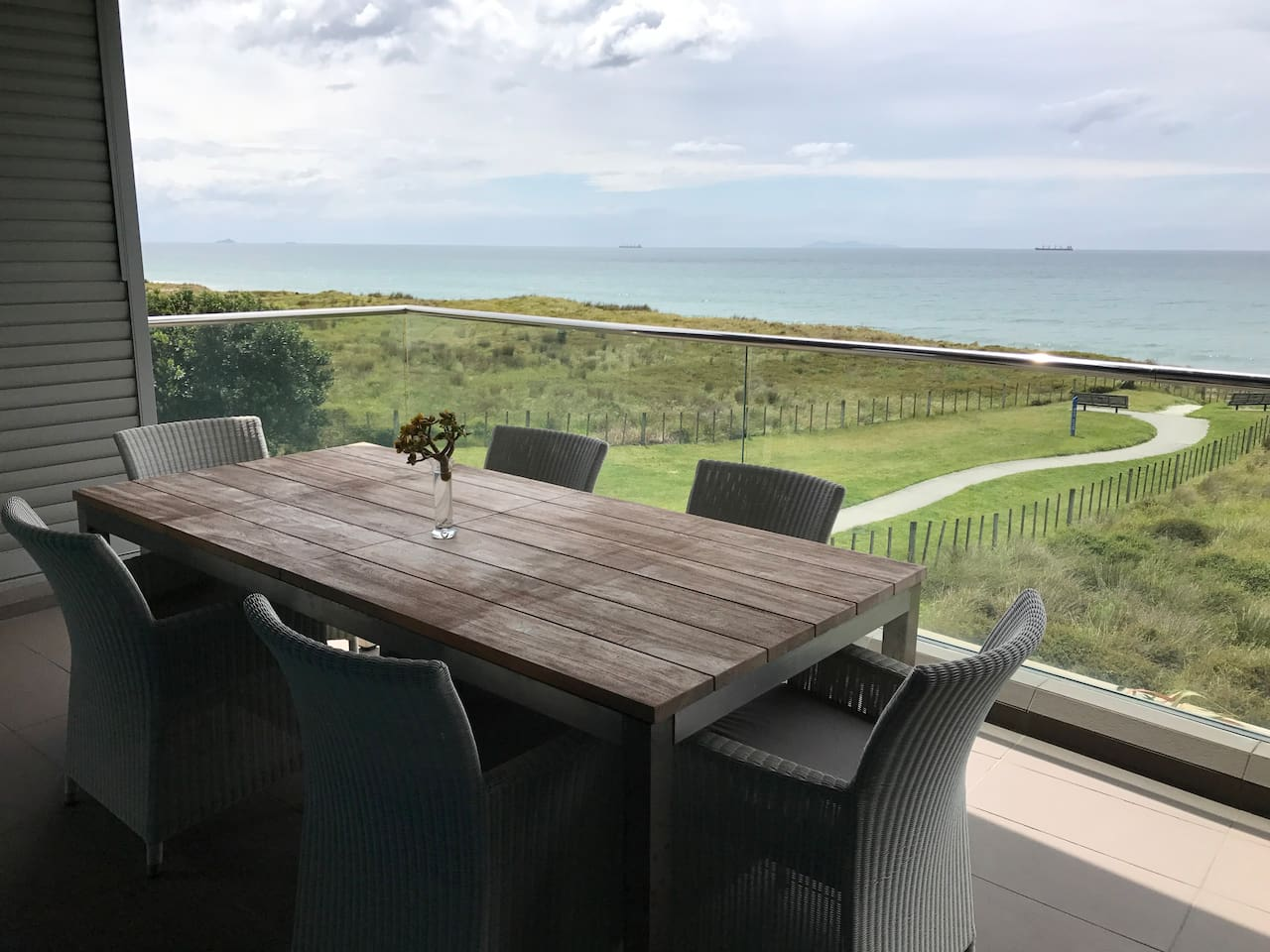 Deck to enjoy the view
