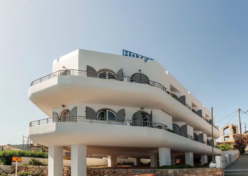 Nontas hotel, Agistri island, Saronic gulf #agistri #holidays #greece #seaview #beachfront