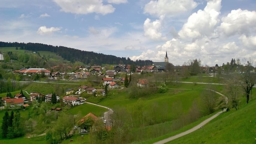 Bien situé  proche du centre ville - Oberstaufen - Apartemen