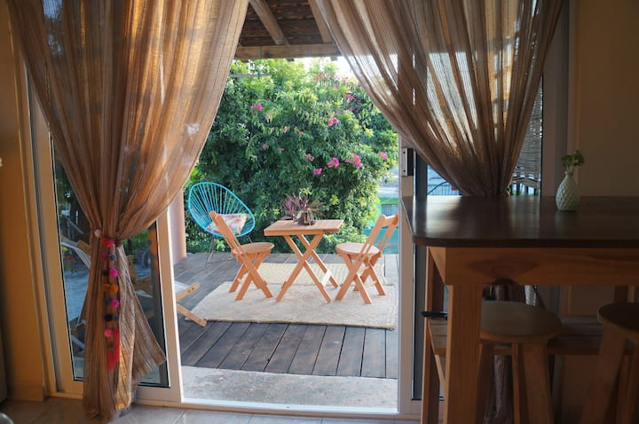 Stay in puerto escondido - Apartment with A/C