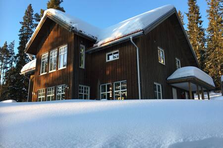 Beautiful house for Storsjökuppen