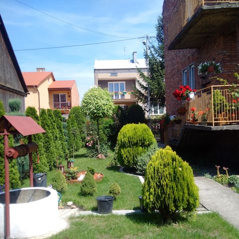Double room with private bath + breakfast - Koprzywnica - House