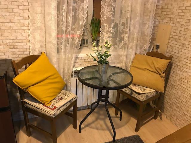 Уютная домашняя студия в сердце Петербурга