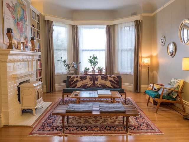 2-Room Suite in Vibrant Mission