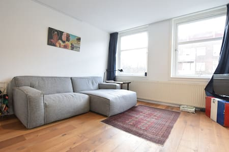 Bright 2p apt with balcony, next to the Westerpark - Амстердам