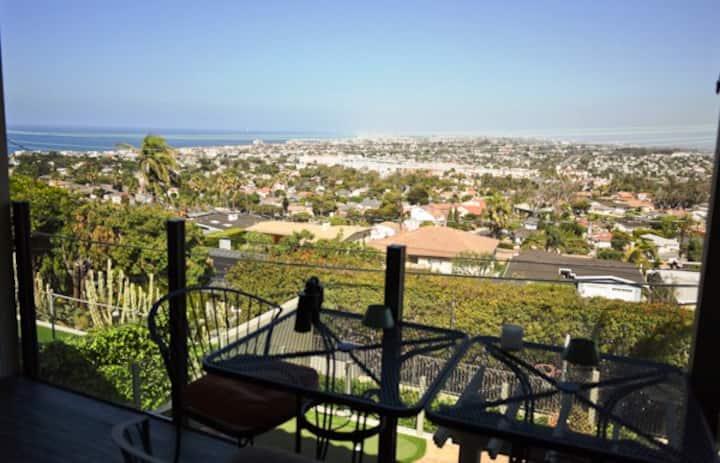 Redondo Beach Home w/ Ocean, City & Mountain Views