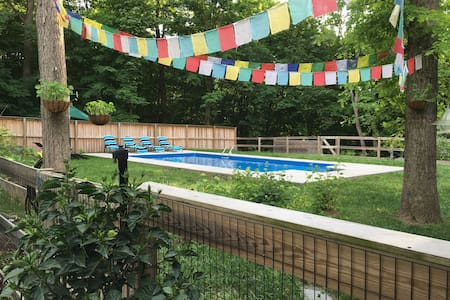 MID CENTURY MOD w/ INGROUND POOL - New Paltz - Hús