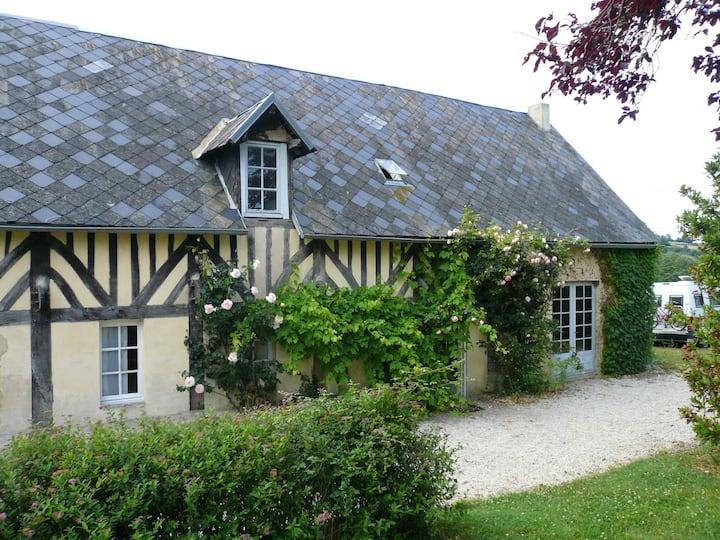 Cottage normand à Camembert