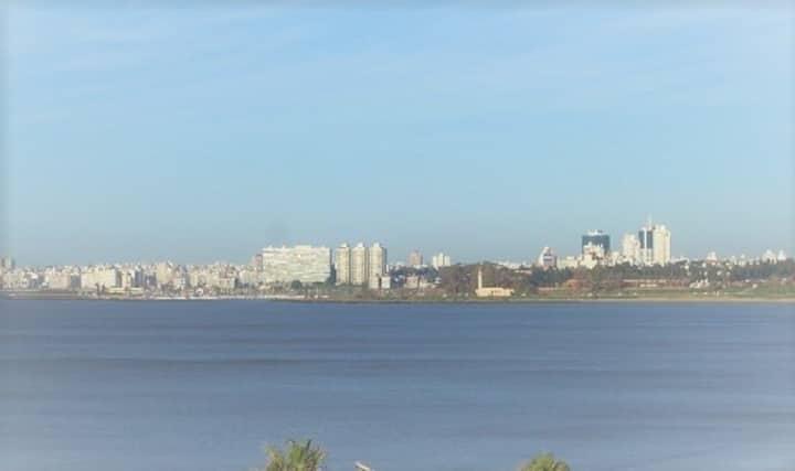Apto entero sobre playa Malvín, zona residencial