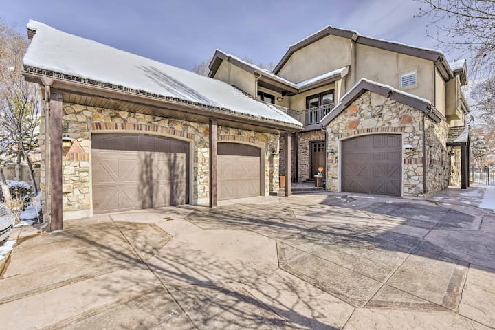 Spacious Home by BYU w/Grill - 12 Mi. to Sundance!