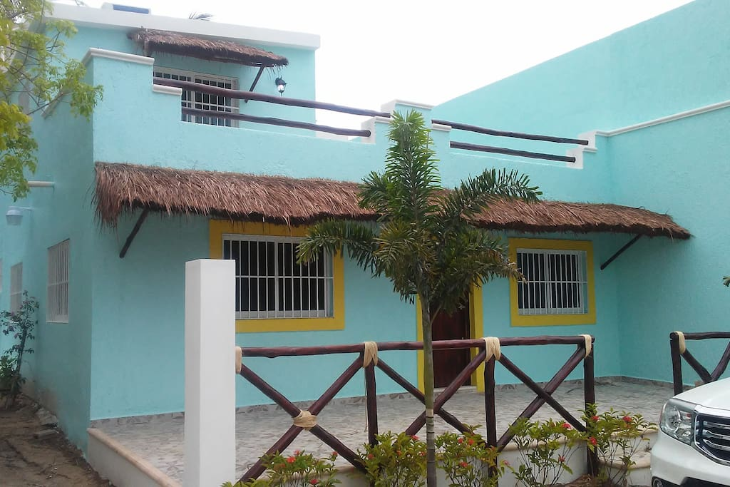 Your home while you stay in beautiful Chelem, Yucatan