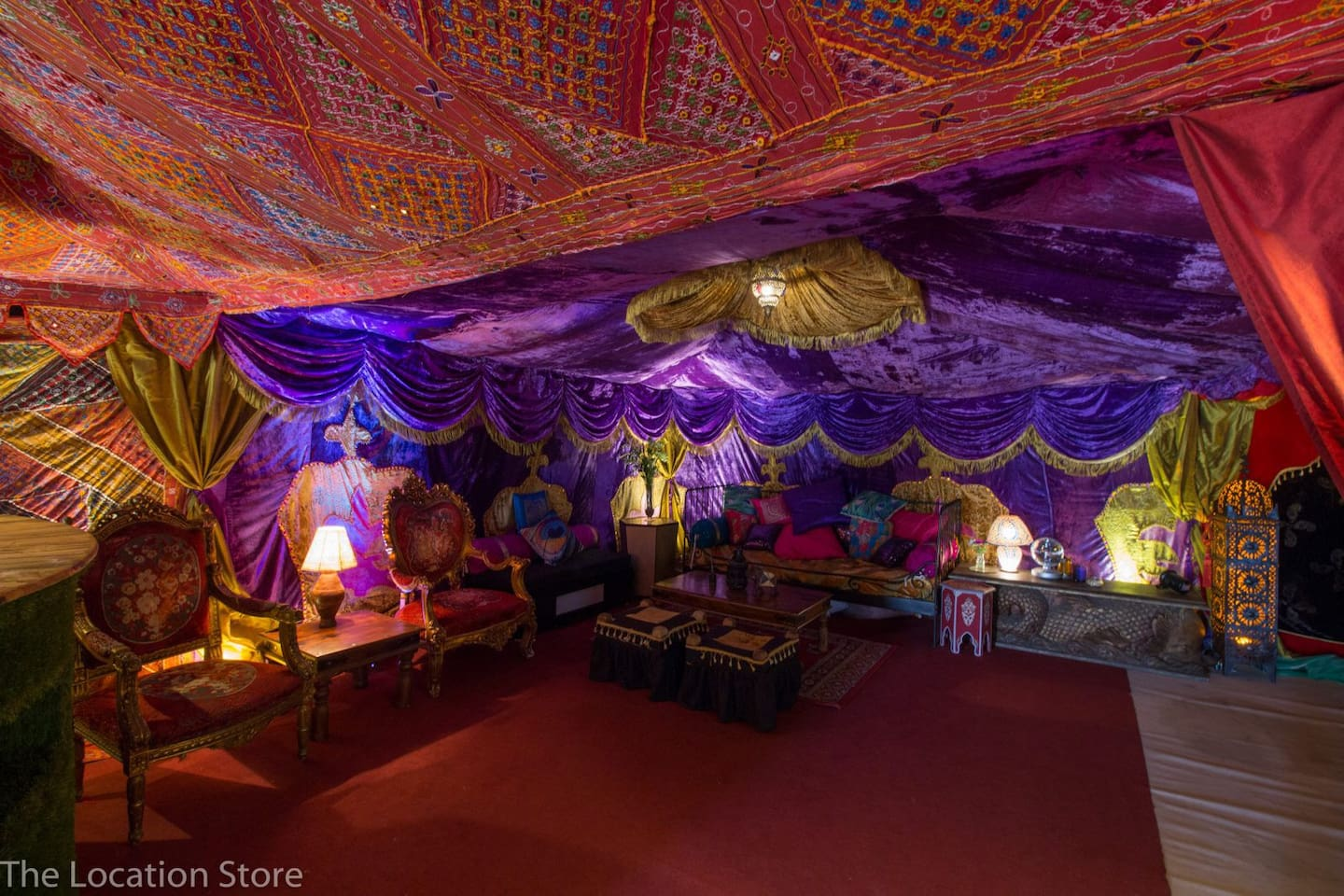 Step into Wonderland...this is just one little tiny corner of the incredible decedent party barn...
