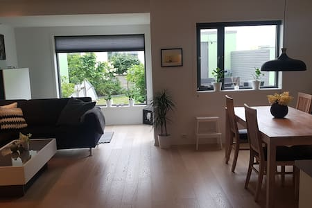 Quiet & Modern House in Sandnes. Free parking&WIFI