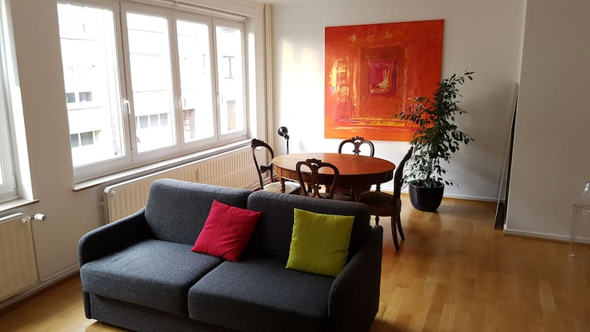 Quiet, Connected & Cosy in lively place - Watermael-Boitsfort - Wohnung