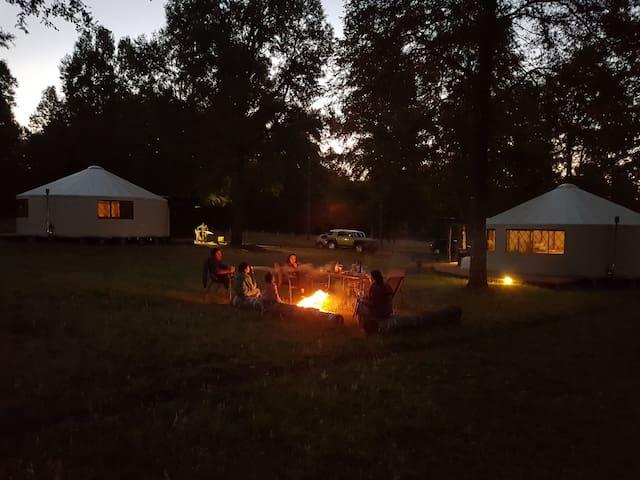 Ruka Camp. Prana Yurts