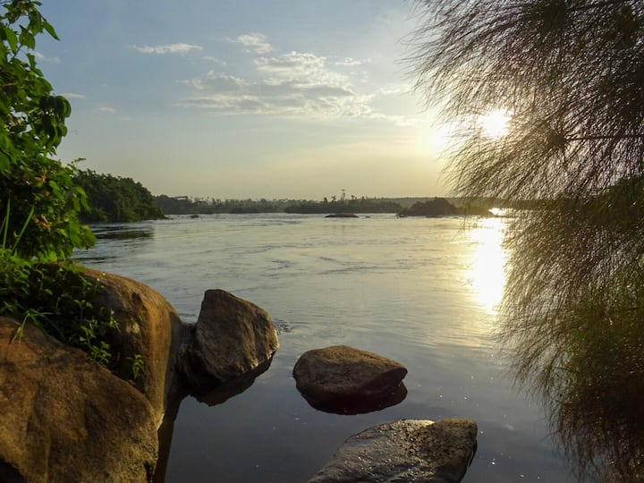 Escape to the outdoors- Nile riverbank tented camp