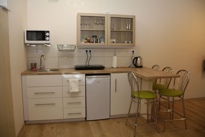 W pełni wyposażony apartament