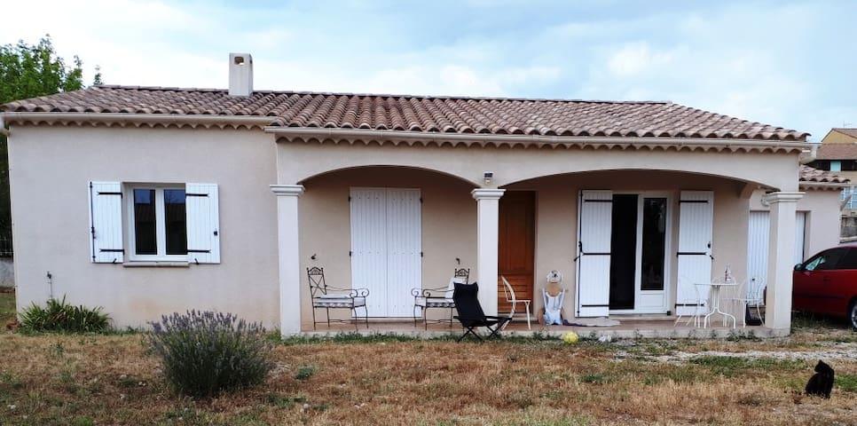 Vinsobres : maison avec vue