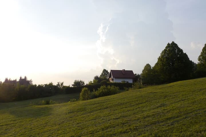 Peacefull and sky view house