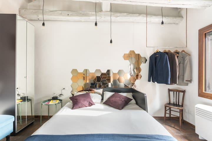 CASA NAVAGERO Room with attic